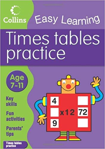 Times Tables Practice: Age 7-11 (Collins Easy Learning Age 7-11 ...