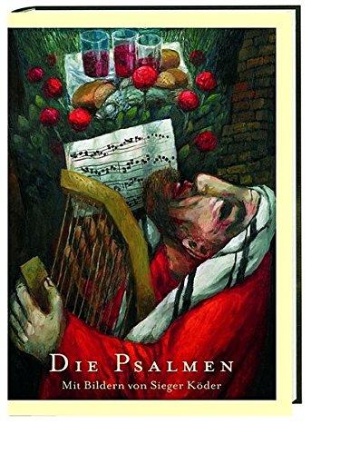 Die Psalmen im Großdruck: Mit Bildern von Sieger Köder