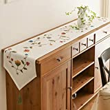 kaige table runners American Country Table Table cloth cloth embroidery cotton linen table flag