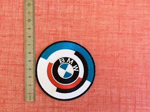 Blue Hawai - Parche termoadhesivo con emblema « BMW»