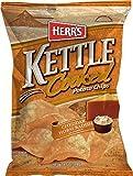 Herr's Cheddar Horseradish Kettle Chips, 8 Ounce