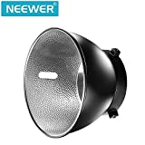 Neewer 7 inches/18 centimeters Standard Reflector Diffuser Lamp Shade Dish for Bowens Mount Studio Strobe Flash Speedlite Like Neewer Vision 4,Vision 5,DS300,SK300,SK400,S-300N,S-400N,NW600BM