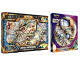 Pokemon Trading Card Game Mega Powers Collection Box and Ultra Beasts Pheromosa GX Premium Collection Box Bundle, 1 of Each