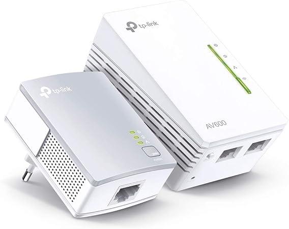 Comprar Zestaw 2 transmiterów siec AV600 / 500Mbps z pkt.dost WiFi N300 TP-LINK 1X10/100 TL-WPA4220 KIT (Powerline 2szt. w kpl)