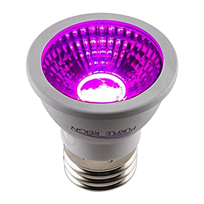 Apollo Horticulture Purple Reign 6W MR16 LED Grow Light Bulb for Plant Growing