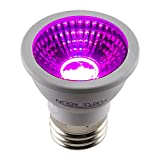Apollo Horticulture Purple Reign 6W MR16 LED Grow Light Bulb for Plant Growing Review