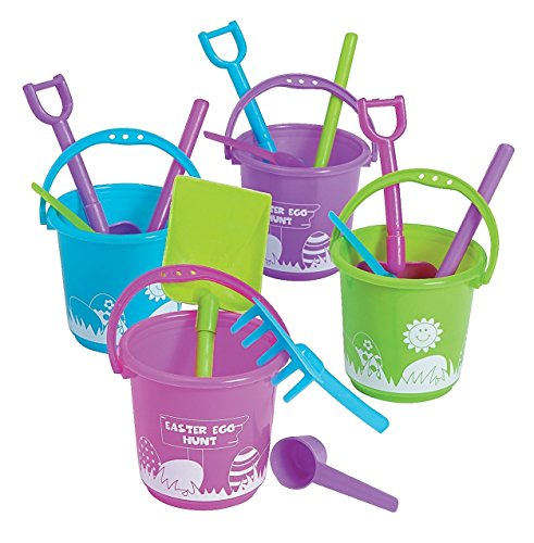 Easter Beach Play Sets (12 Pack) Assorted Colors.