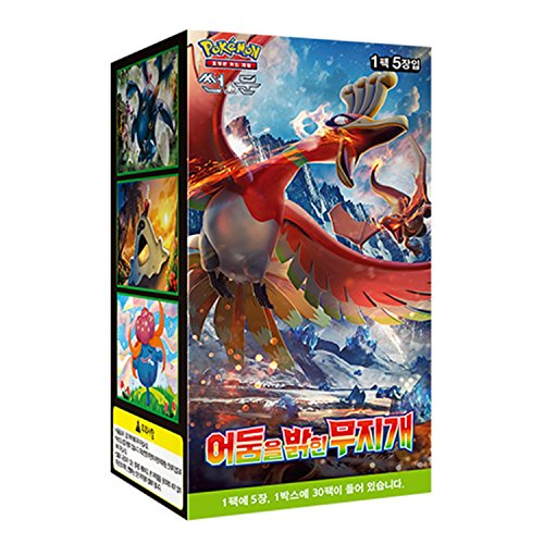 Pokemon Card Sun and Moon 'To Have Seen the Battle Rainbow' Booster Pack Box (30packs) / Korean ver. ()