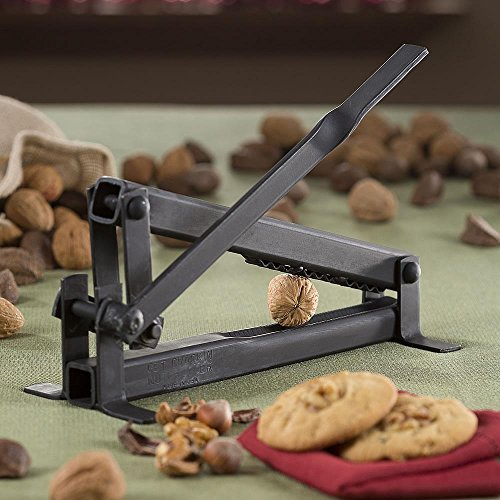 1 X Get Crackin' Nut Cracker-Black Walnut, English Walnut, P
