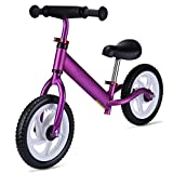 GOOGO Balance Bike, Adjustable Handlebar Seat, No Peal Toddler Bike Kids Age 18 Months to 5 Year Old