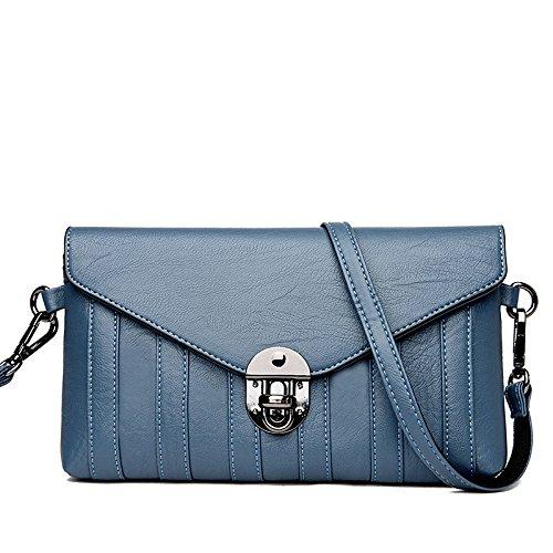 Shoulder Bag Lady Bag Envelope Messenger Packet Fashion Lock Handbag E Bag 6PT8A