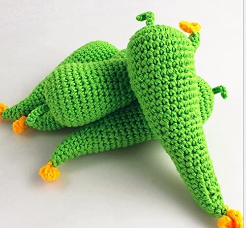 AM/_ Newborn Baby Photography Props Decor Vegetable Fruit Lemon Crochet Knit Toy