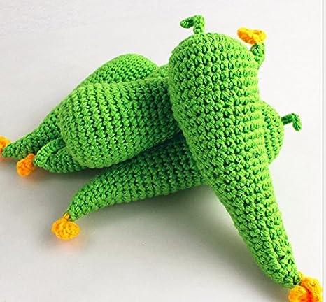 Vegetable Fruit Lemon Crochet Knit Toy Newborn Baby Photography Props Decor