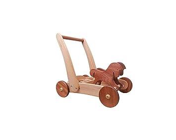 Trolley para Bebé Música Bloques de Construcción Walker Carretilla ...