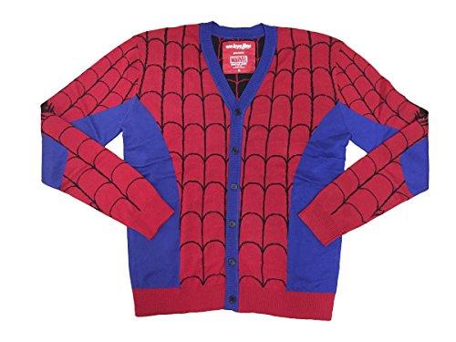 Marvel+Comics+Retro+Shirt Products : Spider-Man I Am Knit Cardigan Marvel Comics
