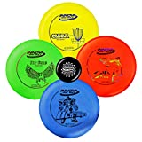 Innova Disc Golf Starter Set - Colors May Vary 160-180g - DX Putter, Mid-Range, Driver