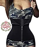 Ursexyly Double Control Waist Trainer Corset Body Shaper Tummy Fat Burning For Hourglass