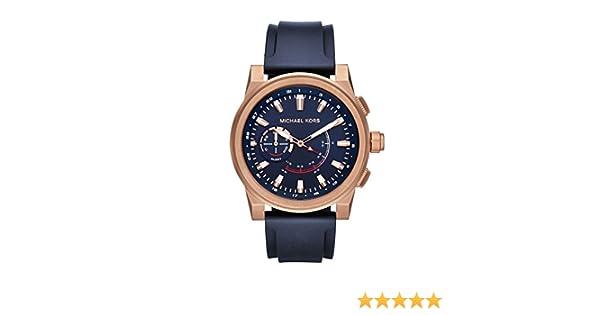 Michael Kors Grayson en Color Dorado de Hombre Hybrid – Reloj