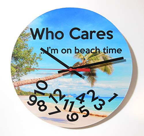 - Who Cares I'm On Beach Time: 10
