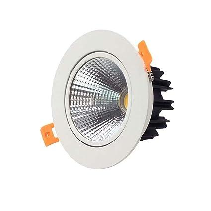 Amazon.com: VacFit 5 W 3000 K/6000 K LED Downlight regulable ...