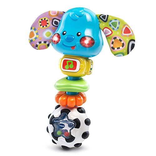 VTech Baby Rattle and Sing Puppy is one of the best toys for babies