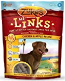 Zuke's Lil' Links Healthy Little Sausage Links for Dogs, Chicken, Pack of 2