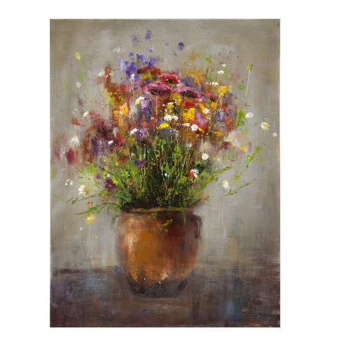 Bassett Mirror Copper Vase Painting, Canvas Wrap