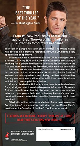 Buy brad thor foreign agent
