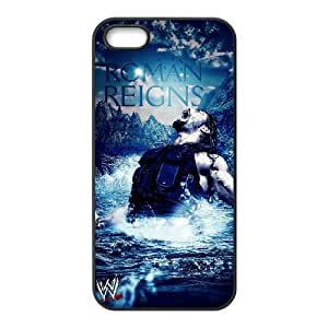 Qxhu Roman Reigns patterns Hard Plastic Back Protective case for Iphone5,5S