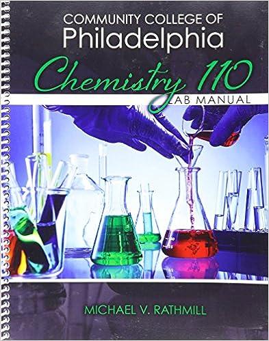 Amazon community college of philadelphia chemistry 110 lab community college of philadelphia chemistry 110 lab manual 1st edition fandeluxe Images