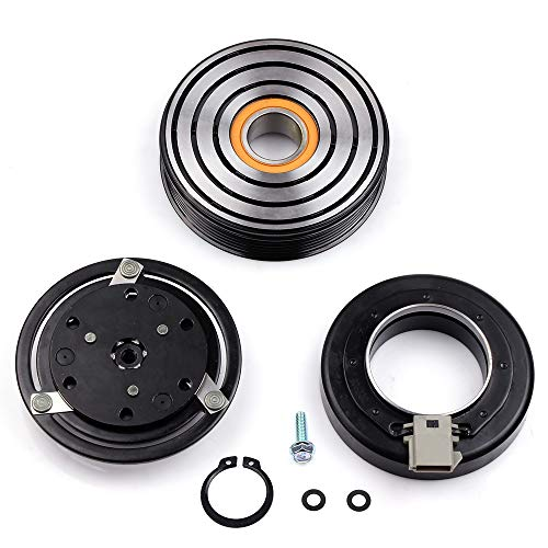 Mercury Sable Ac Compressor - SCITOO Compatible with AC Compressor Clutches Repair Set CO 101410C Auto Compressor Clutch Assembly Kit for Mercury Sable Ford Bronco F-250 F350 F53 Mustang Taurus 1993-2004