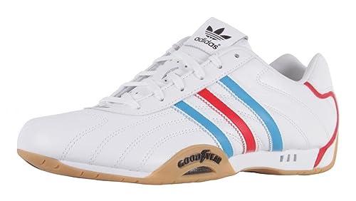 official photos cc36c 87c1d Adidas Adi Racer, Sneaker uomo Bianco bianco, Bianco (WHITE RED BLUE),