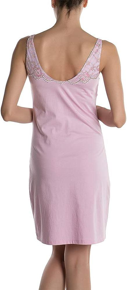 DoReMi Elegante Camicia da Notte Donna