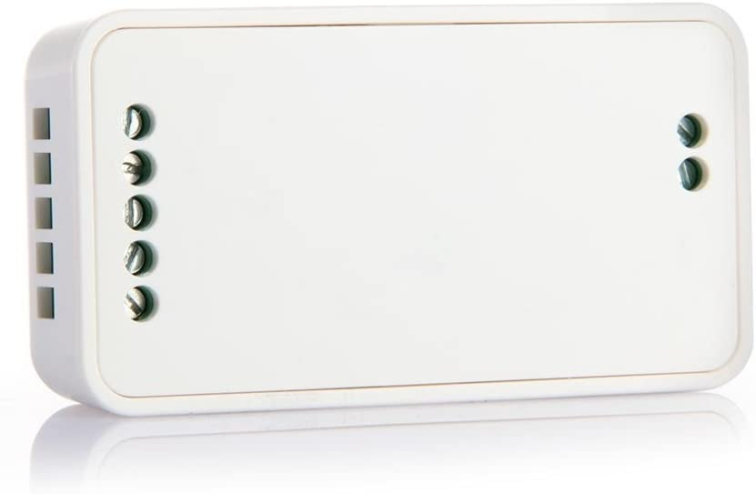Variateur de Lumi/ère LED RVBW Mi-Light 2.4G 12V 24V 6A 2.4Ghz pour Commande dEclat de Couleur de Bandeau Lumineux RVB+W