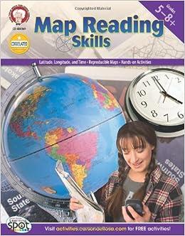 Amazoncom Map Reading Skills Grades Myrl - Us map skills grade 5 instructional fair answers