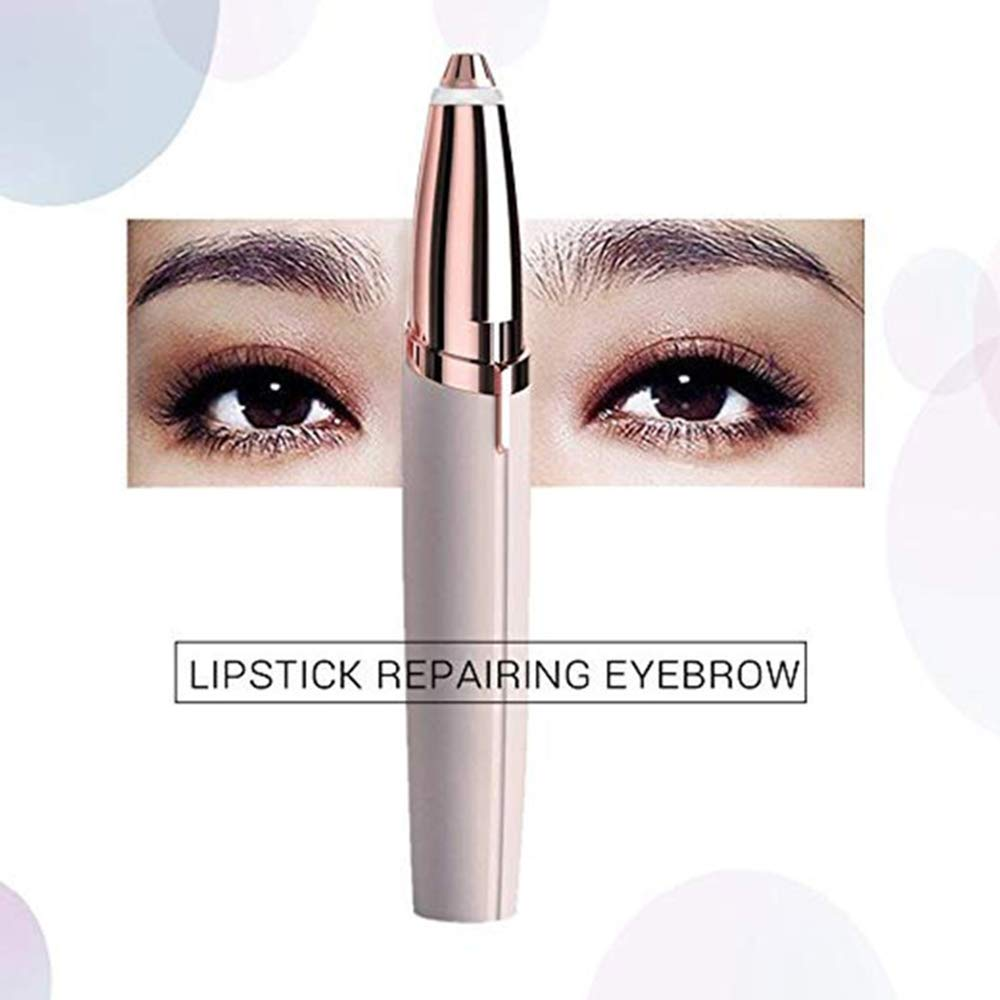 TEAMWIN Flawlessly Brow, Hair Remover -Brows Best Eyebrow Trimmer (pink)