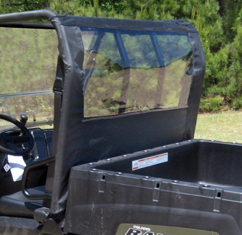 Seizmik Full Size Ranger and Bobcat UTV Dust Panel 04017