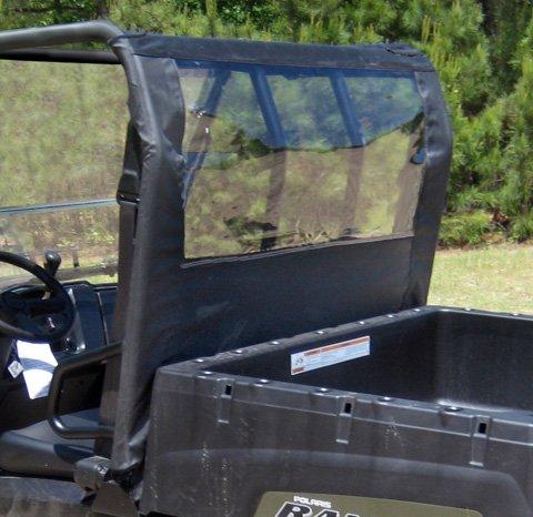 Windshield Panel Chrome (Seizmik Full Size Ranger and Bobcat UTV Dust Panel 04017)