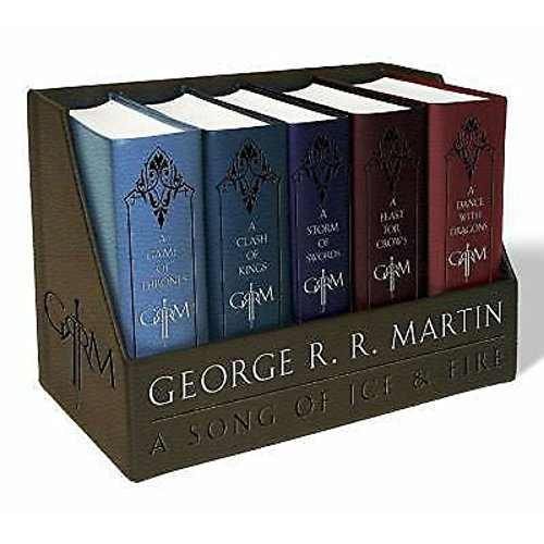 New George R. R. Martins a Game of Thrones Leather-Cloth Boxed Set (Song of Ice.. by - A Thrones Series Of Game