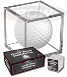 (8) Golf Ball Display Case Stackable Square Cube Holder Display Stand by BCW