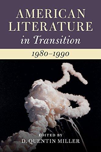 Books : American Literature in Transition, 1980-1990