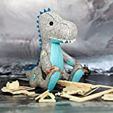 DIY Sewing Polyester Felt Nonwoven Fabric Craft Kit Doll Kits : Make Your Own Doll-Dinosaur