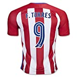 2016 2017 Atletico Madrid 9 Fernando Torres Home Football Soccer Jersey In Red For New Season