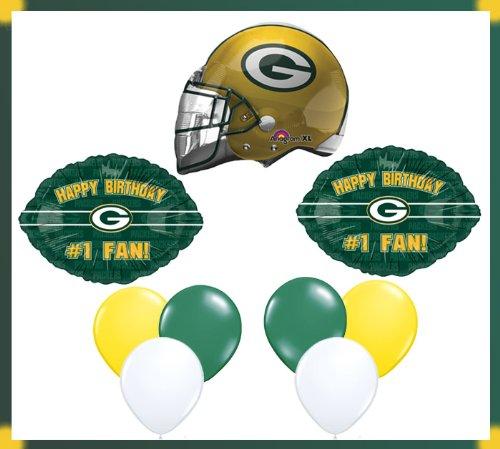Green Bay Packers Happy Birthday 1 Fan Buy Online In Botswana At Desertcart