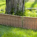 Panacea 14 X 24 W Border Fence, Natural Wicker, 12/cs