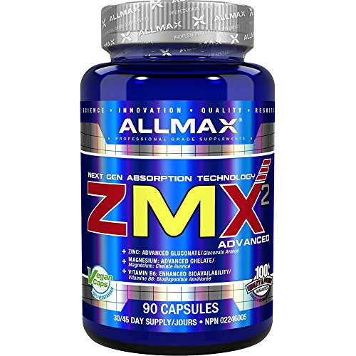 AllMax Nutrition ZMA Capsules Pack of - Capsules 90 Zma Nutrition