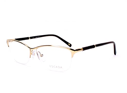 ff9858f8e50 Escada eyeglasses VES 850 0300 Metal Gold - Brown  Amazon.co.uk  Clothing