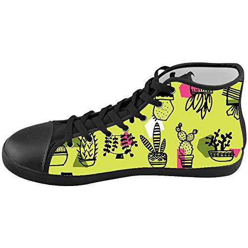 Custom Kid's Shoes Botany New High Top Canvas