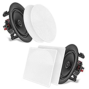 Amazon Com Pyle Ceiling Speakers Stereo Home Theater