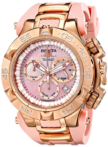 Invicta Womens 17241 Subaqua Analog Display Swiss Quartz Pink Watch